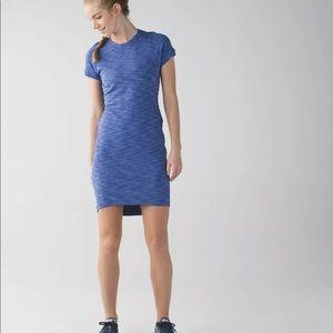 Lululemon &Go Where To Dress Heathered Blue 2